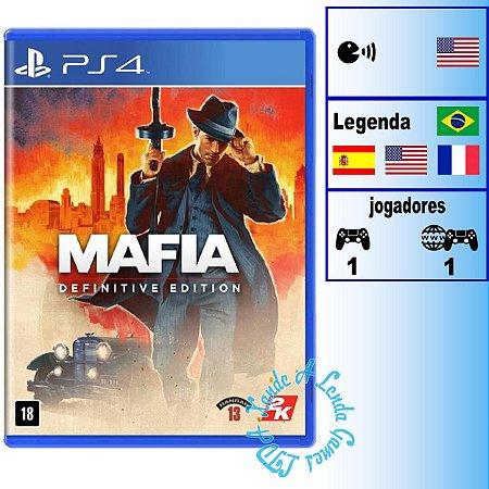 Máfia Definitive Edition - PS4 - Novo
