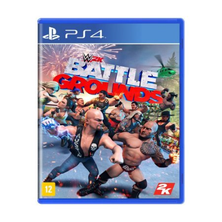 WWE 2K Battlegrounds - PS4 - Novo