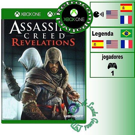 Assassin's Creed Revelations - XBOX 360 - XBOX ONE - Novo