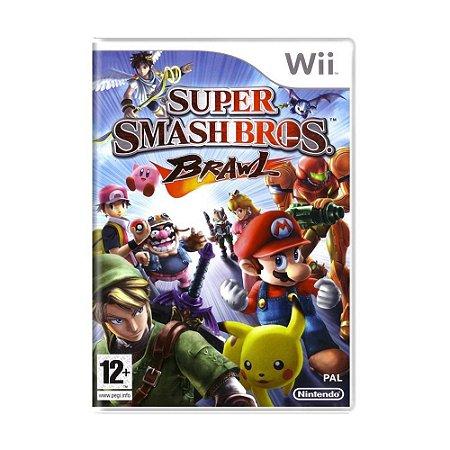 Super Smash Bros Brawl - Wii - Usado