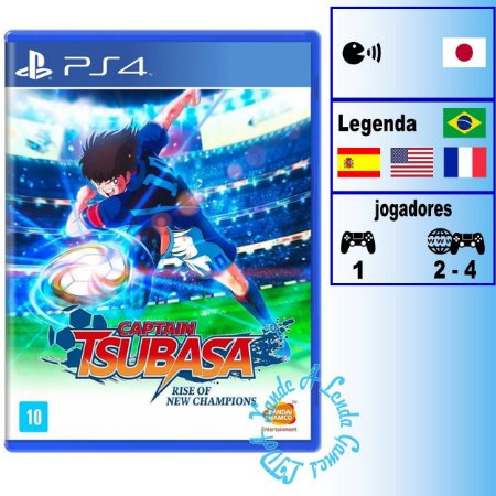 Captain Tsubasa: Rise of New Champions - PS4 - Novo