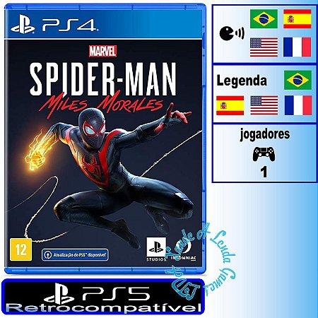 Spider-Man Miles Morales - PS4/PS5 - Novo
