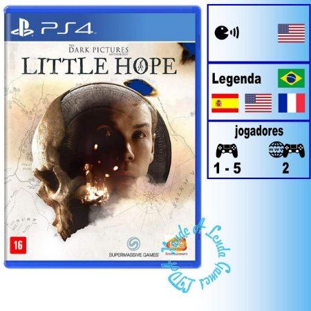The Dark Pictures: Little Hope - PS4 - Novo