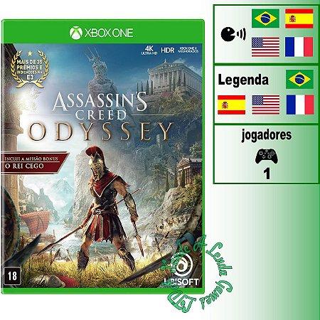 Assassin's Creed Odyssey Edição Limitada - XBOX ONE - Novo