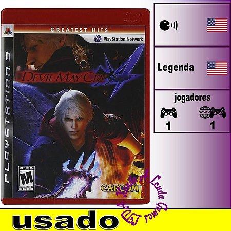 Devil May Cry 4 - PS3 - Usado