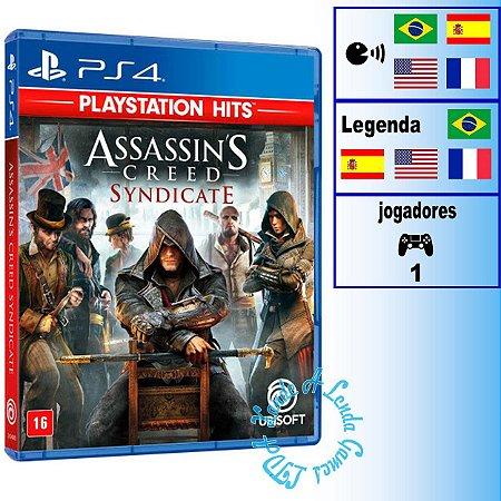 Assassin's Creed Syndicate (PlayStation Hits) - PS4 - Novo