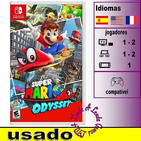 Super Mario Odyssey - SWITCH - Usado