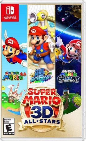 Super Mario 3D All Stars - SWITCH - Novo