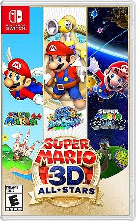 Super Mario 3D All Stars - SWITCH - Novo [EUA]