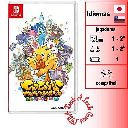 Chocobo's Mystery Dungeon EVERY BUDDY - SWITCH - Novo