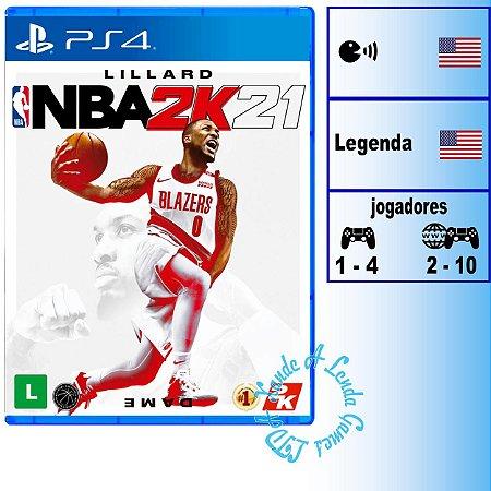 NBA 2K21 - PS4 - Novo