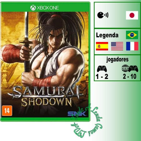 Samurai Shodown - XBOX ONE - Novo