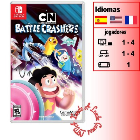 Cartoon Network Battle Crashers - SWITCH - Novo