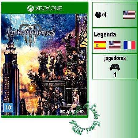 Kingdom Hearts III - XBOX ONE - Novo