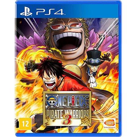 One Piece Pirate Warriors 3 - PS4 - Novo