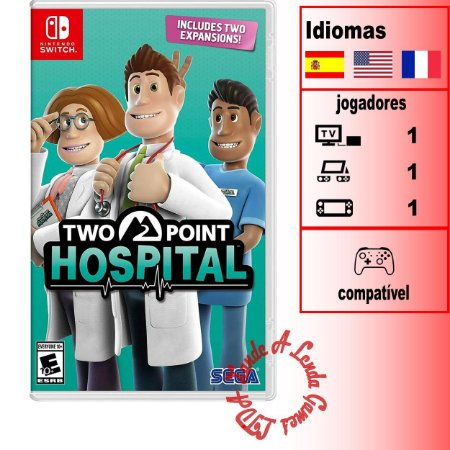 Two Point Hospital - SWITCH - Novo