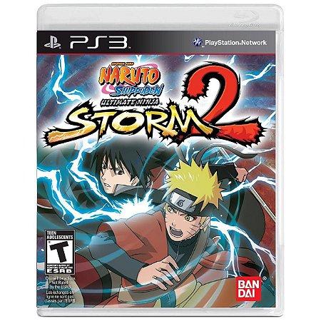 Naruto Shippuden Ultimate Ninja Storm 2 - PS3 - Usado