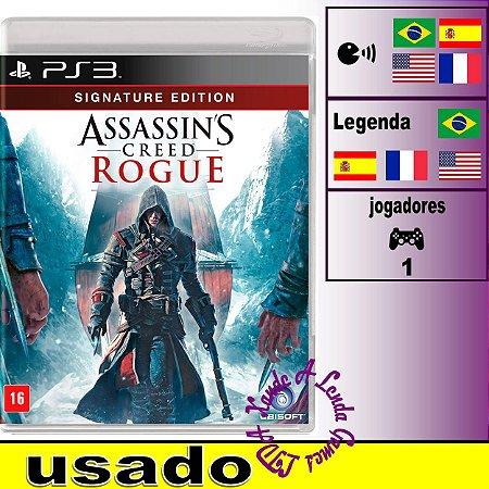 Assassin's Creed Rogue Signature Edition - PS3 - Usado