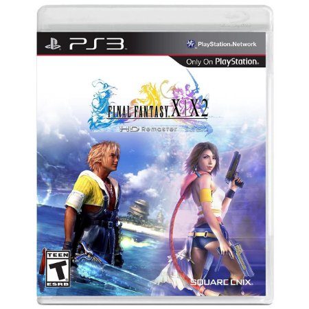 Final Fantasy X | X2 HD Remaster - PS3 - Usado
