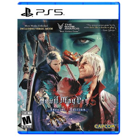 Devil May Cry 5 Special Edition - PS5 - Novo