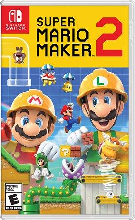 Super Mario Maker 2 - SWITCH - Novo [EUA]