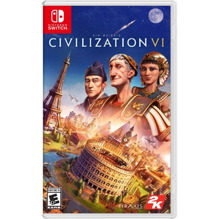 Sid Meier's Civilization VI - SWITCH - Novo [EUA]