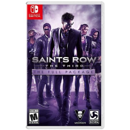 Saints Row The Third The Full Package - SWITCH - Novo [EUA]