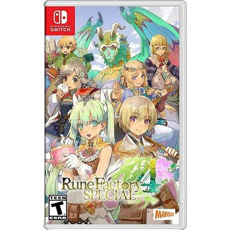 Rune Factory 4 Special - SWITCH - Novo [EUA]
