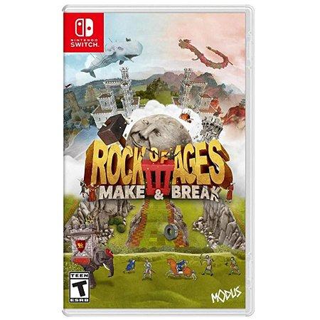 Rock of Ages 3: Make & Break - SWITCH - Novo [EUA]