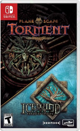 Planescape Torment & Icewind Dale: Enhanced Edition - SWITCH - Novo [EUA]