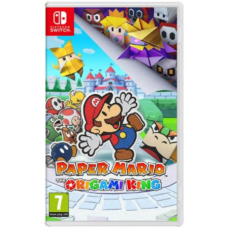 Paper Mario The Origami King - SWITCH - Novo [EUROPA]