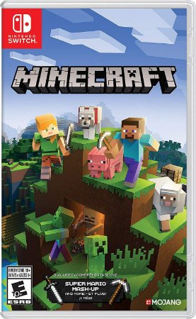 Minecraft Super Mario Mashup - SWITCH - Novo [EUA]