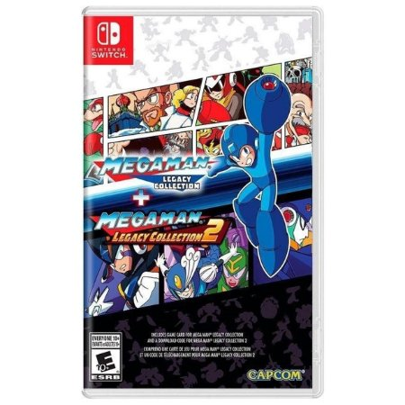 Mega Man Legacy Collection 1 + 2 - SWITCH - Novo [EUA]