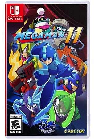 Mega Man 11 - SWITCH - Novo [EUA]