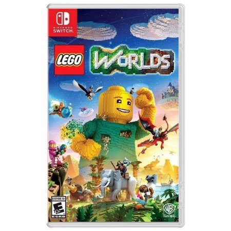 Lego Worlds - SWITCH - Novo [EUA]