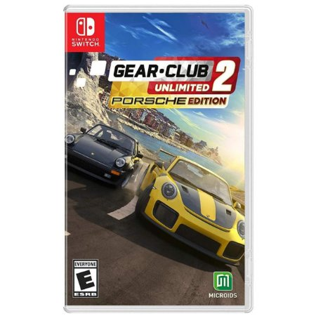 Gear Club Unlimited 2 Porsche Edition - SWITCH - Novo [EUA]