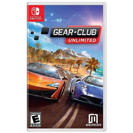 Gear Club Unlimited - SWITCH - Novo [EUA]