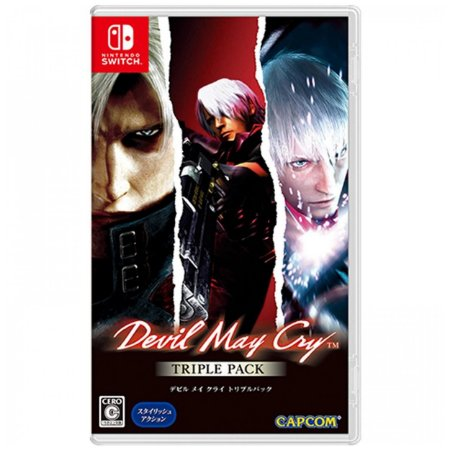 Devil May Cry Triple Pack - SWITCH - Novo [ASIA]