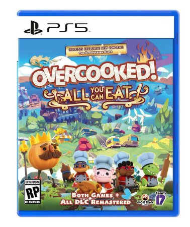 Overcooked! All You Can Eat - PS5 - Novo