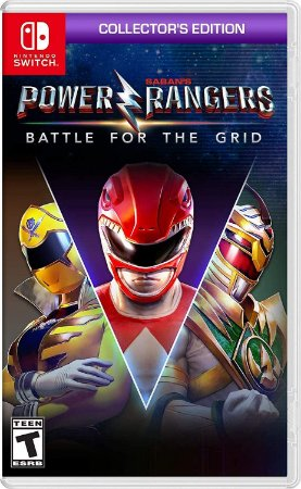 Power Rangers: Battle for the Grid Collector's Edition - SWITCH - Novo [EUA]