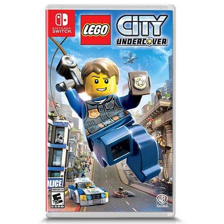 LEGO City Undercover - SWITCH - Novo [EUA]