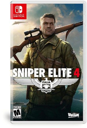 Sniper Elite 4 - SWITCH - Novo [EUA]