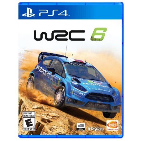 WRC 6 (FIA World Rally Championship) - PS4 - Novo