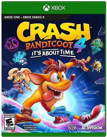 Crash Bandicoot 4 It's About Time - XBOX ONE - Novo