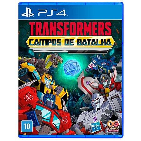Transformers: Campos de Batalha - PS4 - Novo
