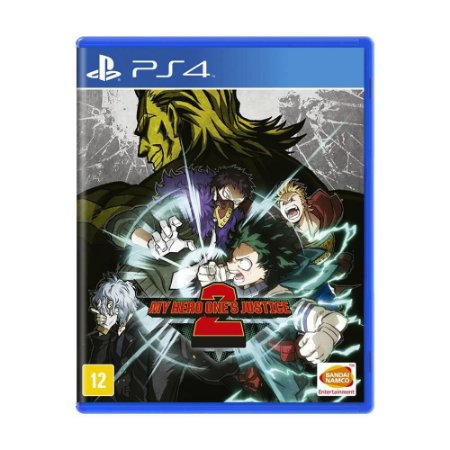 My Hero One's Justice 2 - PS4 - Novo