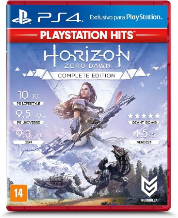 Horizon Zero Dawn Complete Edition (PlayStation Hits) - PS4 - Usado