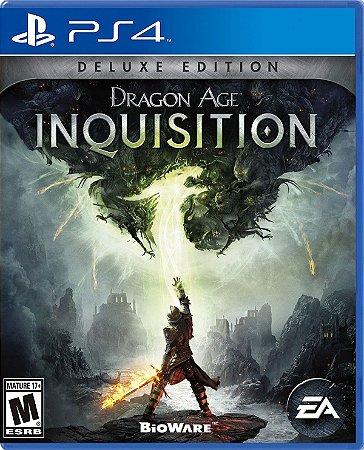 Dragon Age Inquisition Deluxe Edition - PS4 - Usado