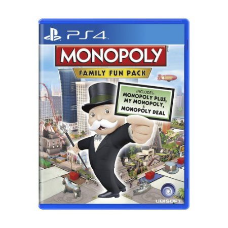Monopoly Family Fun Pack - PS4 - Usado