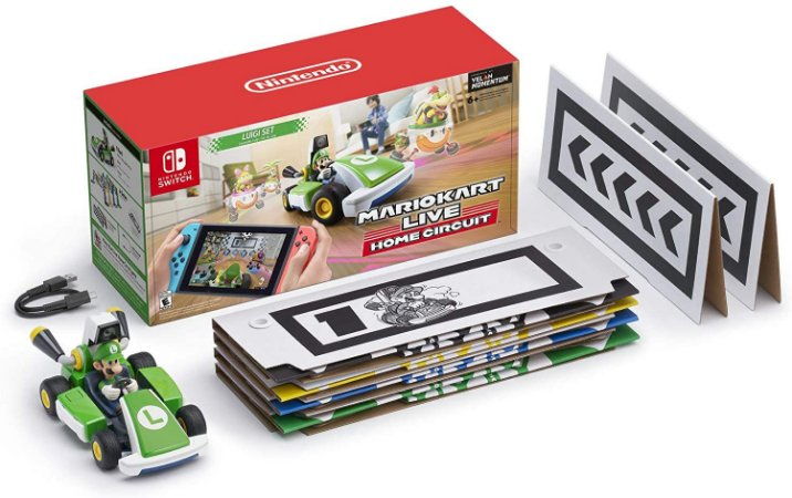 Mario Kart Live Home Circuit Luigi Set - SWITCH - Novo [EUA]